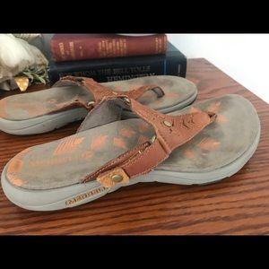 Merrell sandals size 6 GUC